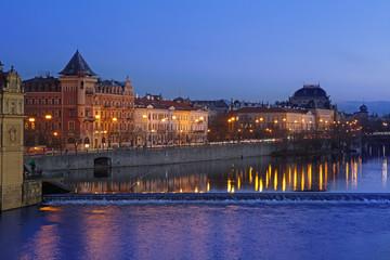 Night in Prague