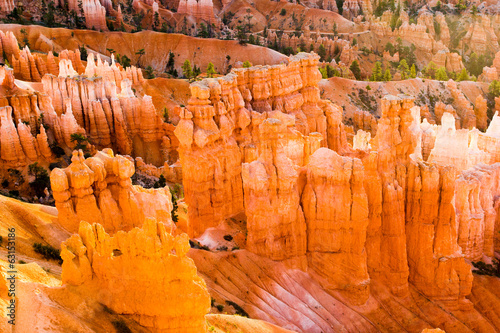 Bryce Canyon, details of the Hoodoos