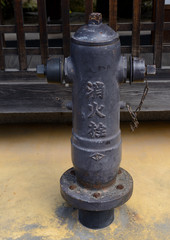 宮島の消火栓