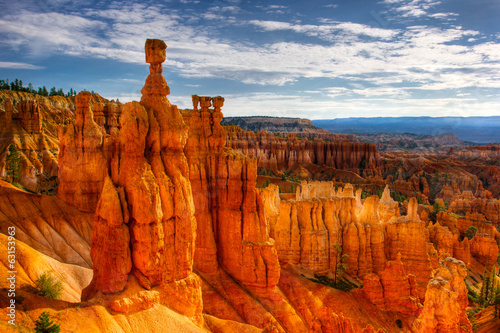 Tuinposter Canyon Thor's Hammer, Bryce Canyon
