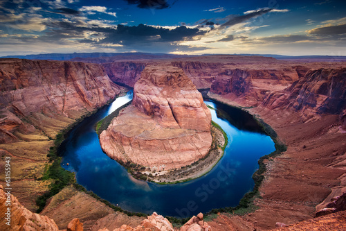 Grand Canyon, horseshoe bend, colorado river - 63155943