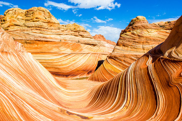 The Wave, rock formation in Arizona