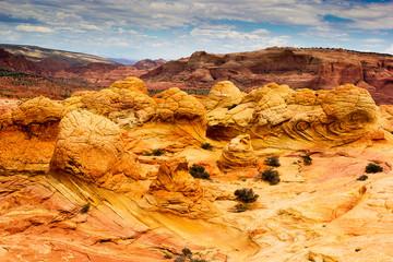 brain rocks, strange rock formation in Arizona
