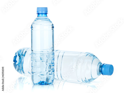 Two water bottles