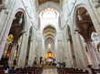 Interior of  Almudena Cathedral. Madrid