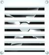 Постер, плакат: Ventilation grille 3D