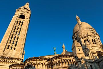 Sacre coeur, Montmartre, Paris, France.