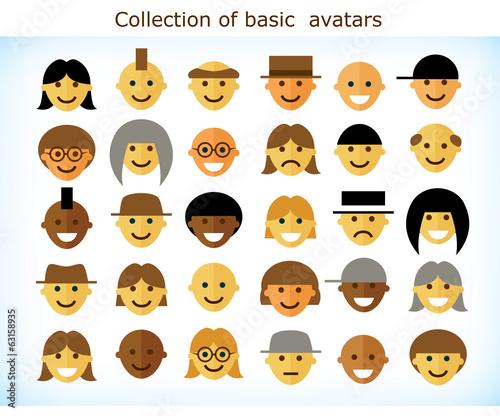 Simple avatars