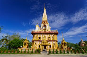 Wat Chalong temple Phuket, Thailand