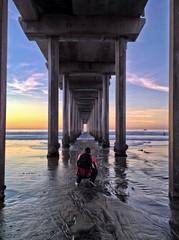 Scripps Pier in La Jolla, San Diego, California, USA