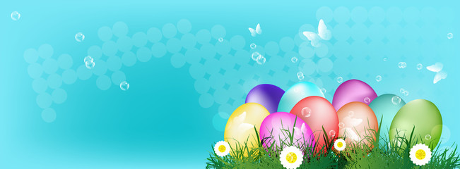 Easter Eggs.Holiday Easter.Vector