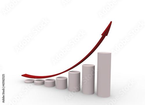 グラフと矢印