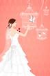 Bride with Bird Cage