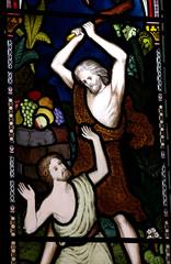 Cain killing Abel.