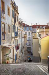 Lisbon's city street