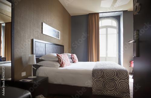 Leinwanddruck Bild classic hotel room