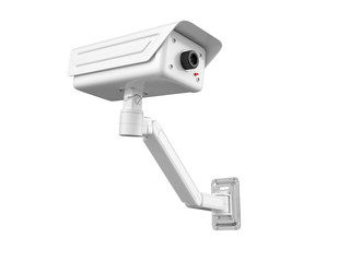 Security camera. 3D isolated