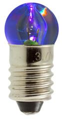 ampoule bleue de lampe de poche