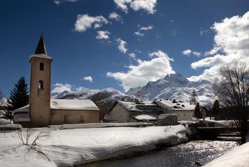 Schweizer Winterlandschaft