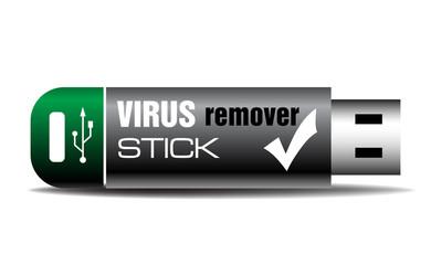 Virus remover stick