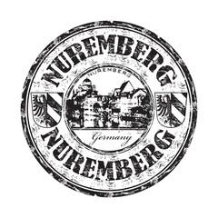 Nuremberg grunge rubber stamp