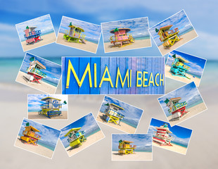 Miami Beach postcards