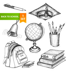 Education school set
