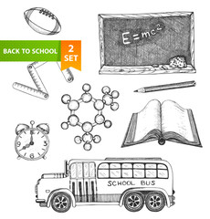 Education school set
