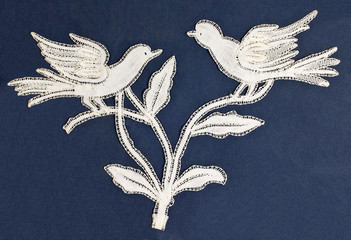 Birds embroidery