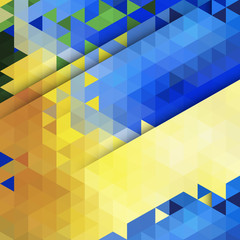 Abstract background. Blue and yellow color for you design