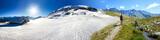 Panoramica inverno estate in montagna - 63171395
