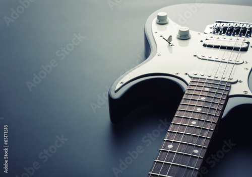 Foto op Canvas Muziekwinkel Electric guitar
