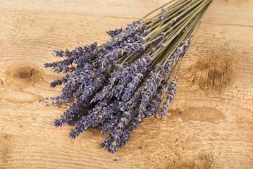 Dried lavender floowers