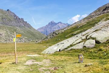Segnaletica sentieristica di montagna