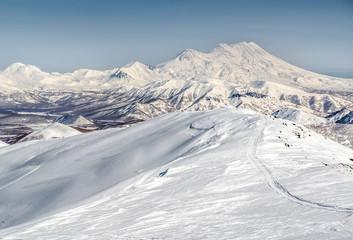 Wild nature of Kamchatka. Far East, Russia