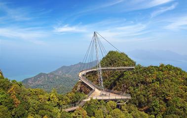Sky bridge. Langkawi