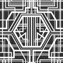 Seamless géométrique.