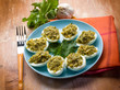 stuffed eggs traditional sardinia recipe
