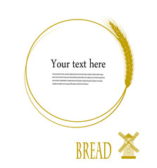 bubble to the text of the wheat ear