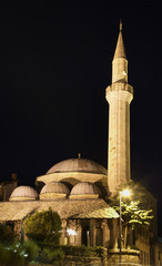 Mosque of Mostar. Bosnia and Herzegovina
