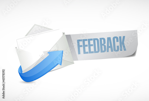 feedback envelope mail illustration design