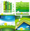 Modern ecology Design Layout collection