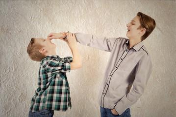 Quarrel of brothers