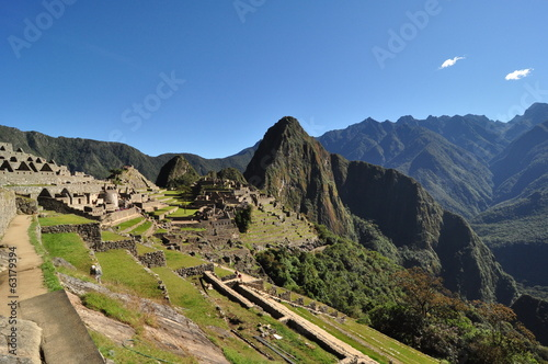 A beautiful day at Machu Picchu, Peru