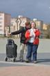 couple trisomique en voyage