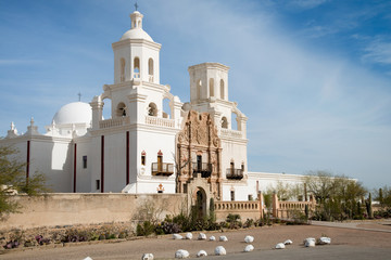 San Xavier Del Bac Mission, Tucson, Arizona