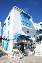 Sidi Bou Said tourist shop