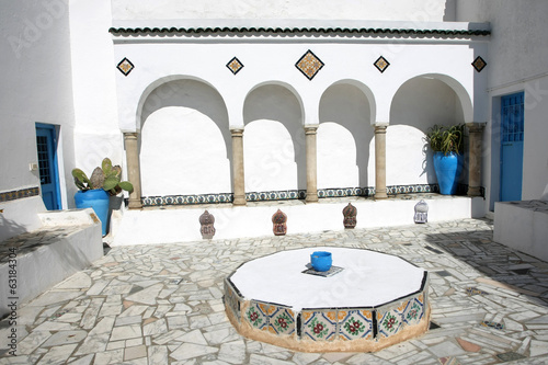 Courtyard Sidi Bou Said
