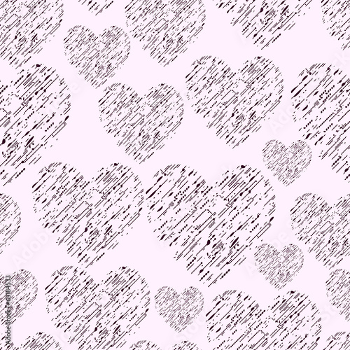 Hand Drawn Simple Seamless Pattern