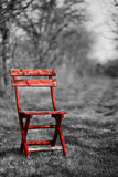 Fototapety Red Chair